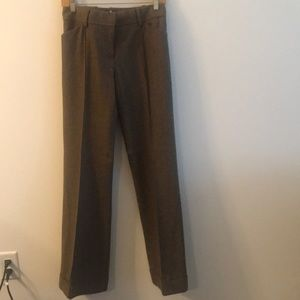 Brown trousers